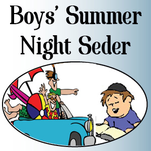Boys' Summer Night Seder at the Denver Community Kollel